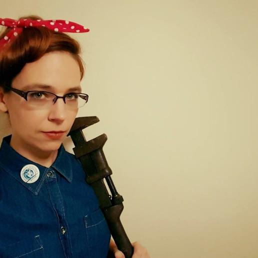 Rosie the Riveter.