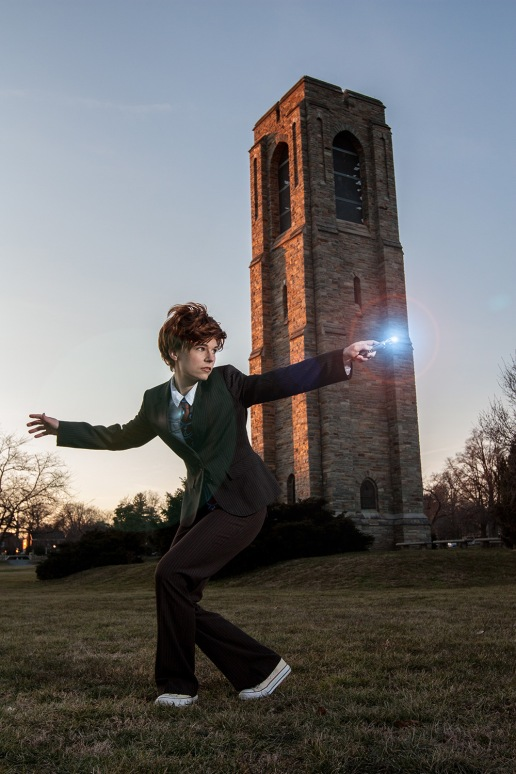 Tenth Doctor cosplay   Photo credit: Jeff Stanford