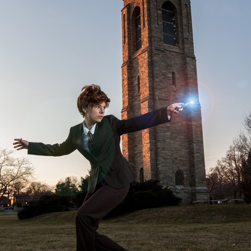 Tenth Doctor cosplay | Photo credit: Jeff Stanford