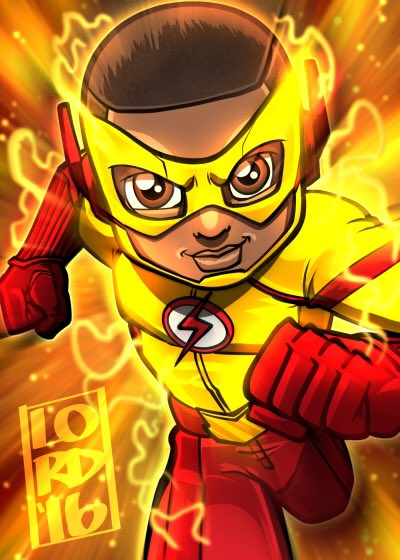 The Flash_Kid Flash_Lord Mesa