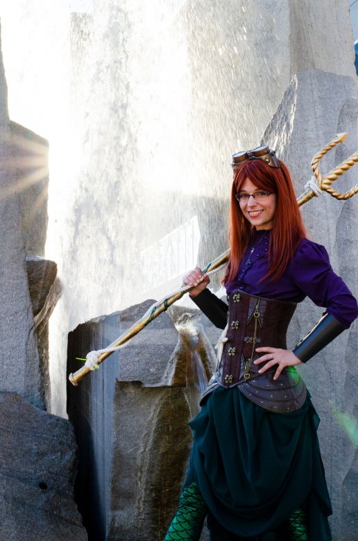 Steampunk Ariel (Comic Con 2017) | Photo credit: Michael Mongeon