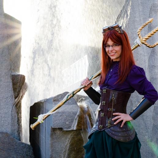 Steampunk Ariel (Comic Con 2017)   Photo credit: Michael Mongeon