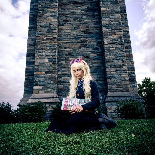 Luna Lovegood cosplay | Photo credit: Jeff Stanford